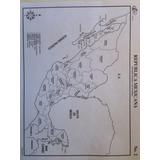 Lote De Mapas Tamaño Carta Blanco Y Negro