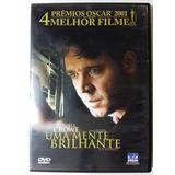 Dvd Uma Mente Brilhante Original A Beautiful Mind 4 Oscar