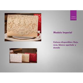 Kit De Invitaciones Modelo Imperial