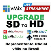 Vmix Upgrade Sd Para Hd Em 12 X Sem Juros - Profissional