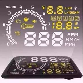 Velocímetro Digital Universal Pára-brisa Hud Display Cp66