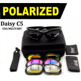 Óculos Daisy C5 Tático Polarizado Usa Military Resistente