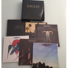 Box 6 Lps The Eagles Import (queen Beatles Stones Led Doors)