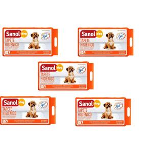 Tapete Higienico Sanitário Cães Sanol Dog 30unid 5 Pacotes