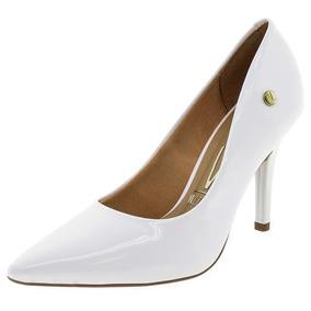 b2fd9f684 Sapato Salto Branco Noiva - Scarpins Vizzano para Feminino no ...