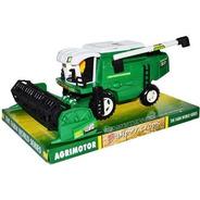 Maquina De Campo Cosechadora Juguete 27 Cm Agricola Esc 1:32