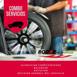 Combo Alineacion + Balanceos + Rotacion + Revision General
