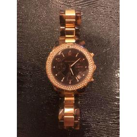 bc1e7bdcf7a Relógio Michael Kors Mk5416 Tartaruga Rose Com Cristais. - Relógios ...