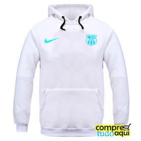 Blusa Moletom Barcelona Futebol - Casaco De Frio Moleton