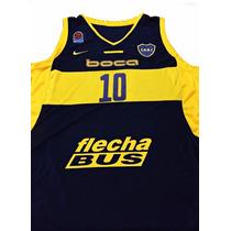 Musculosa Basquet Boca Juniors #10 Delfino Nike Original