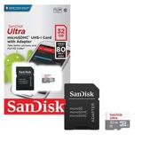 Cartão De Memoria 32gb Micro Sd Cl10 80mb/s Ultra Sdsquns
