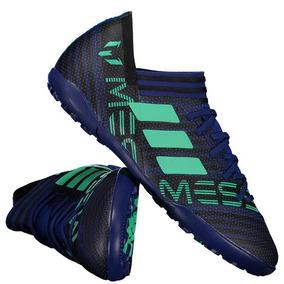dc76963e69 Chuteira adidas Nemeziz Messi 17.3 Tf Society Juvenil Azul por Futfanatics