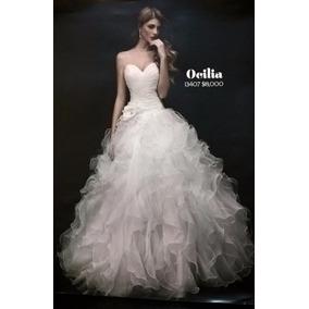 Vestido De Novia Bridenformal Modelo Ocilia Costura 2013