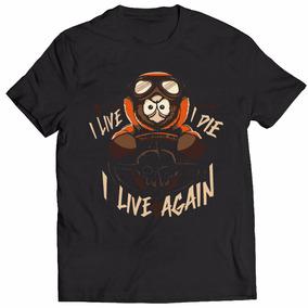 Camisa Camiseta South Park I Live I Die I Live Again Desenho
