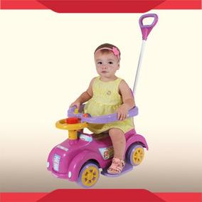 Empurrador Baby Car Menina - Andador Biemme + Frete Grátis!