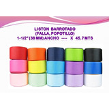 Liston Barrotado,falla,popotillo 1-1/2 (38 Mm) X 45.7 Mts