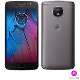 Motorola Moto G5s Platinum Tela 5,2 4g 32gb Novo Lacrado