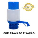 Bomba Para Galão C/ Trava Manual 10/20 Litros Água Garrafão