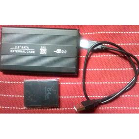 Hd 120 Gb Pra Ps2 + Memory Card 64 Mb Com Opl