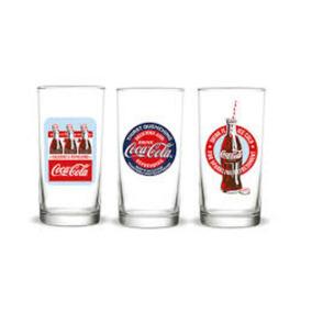 Kit 3 Copos Coca Cola 310ml