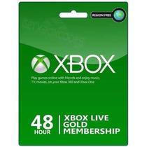 Xbox Live - 2 Dias De Gold (acepto Mercado Pago Y Oxxo)
