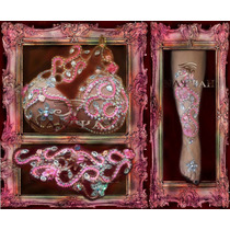 Traje Danza Arabe Boreal Rose Taza Soft 95 O 100