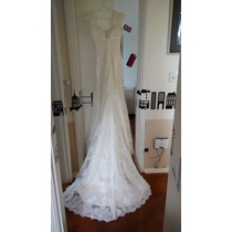 Vestido Noiva St Patrick Paraguay Tamanho 4 Usa Off-white