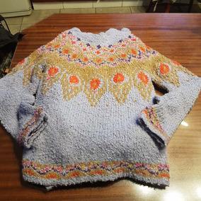 Sweter Zara Lila Con Multicolor T M
