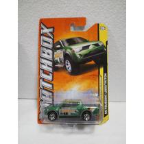 Matchbox Camioneta Mitsubishi L200 Triton Verde 5/10