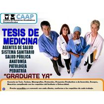 Tesis De Medicina Asesorías