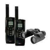 Rádio De Comunicação (par) Cxr925 Cobra + Binóculos S/ Frete