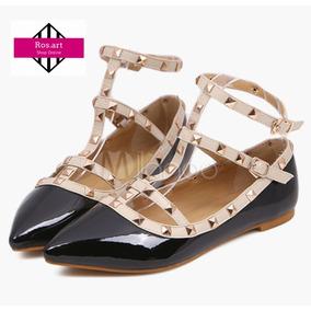 Zapatos Importados Tachas Chatitas Rosart.moda