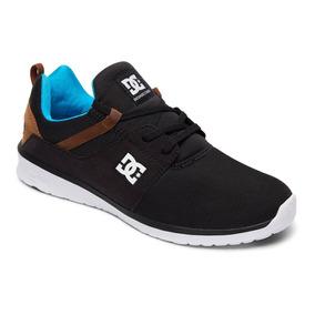 Tenis Calzado Hombre Heathrow M Shoe Bqw Dc Shoes Negro