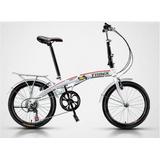Bicicleta Dobrável Trinx Ds2007 Shimano 7v Direto Importador