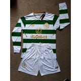 Uniforme De Fútbol Celtic Football Club Manga Larga