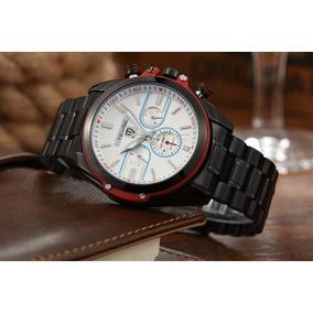 Relógio Automatico Militar Luxo Preto Promoção!!!