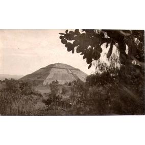 Mexico Circa 1940 Pirámide De Teotihuacán Foto-postal