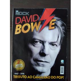 Revista Poster Tributo David Bowie Nova Ler Anúncio Off