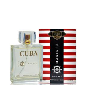 ceeeb817b6c Cuba Marines Edp Perfume Masculino 100ml Lançamento Original