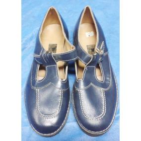 Vintage Zapato Juvenil Niña O Mujer Nº 37- Calzado Fino