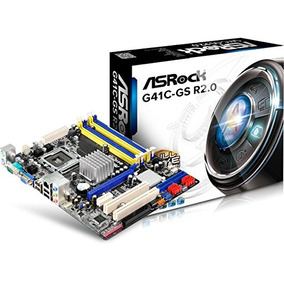 Asrock G41c-gs Lga 775 G41 Ddr2+drr3 8gb Micro Atx Motherboa