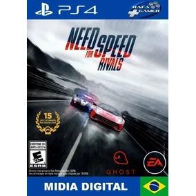 Need For Speed Rivals Ps4 Jogue Com Sua Conta, Seu Perfil