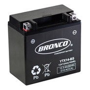 Bateria Moto Bronco Ytx14-bs Gel Motoscba