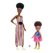 Combo Barbie 135 Vitiligo + Chelsea Morena  - Melhor Preço