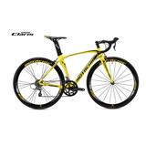 Bicicleta Ruta Shimano Claris Aluminio/fibra Carbono/10 Kg.