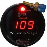 Medidor Temperatura Da Água Digital Racetronix Led Verm 52mm