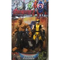 Bonecos Wolverine E Coisa - Promoção