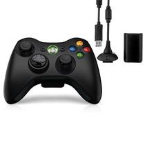 Controle Xbox Sem Fio Kit Bateria Carregador Original Feir