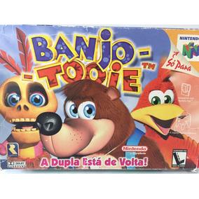 Banjo Tooie Caixa E Manual Original Nintendo 64 Frete Gratis