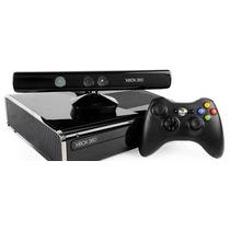 Xbox 360 Desbloqueado Com Kinect + 2 Controles